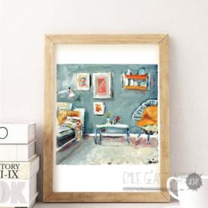 Living-room-cadre-bois